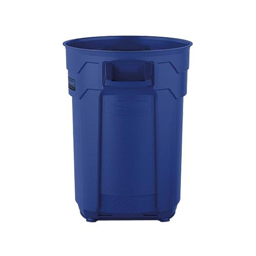 Wholesale 32 GAL COMMERCIAL TRASH CAN BLUE