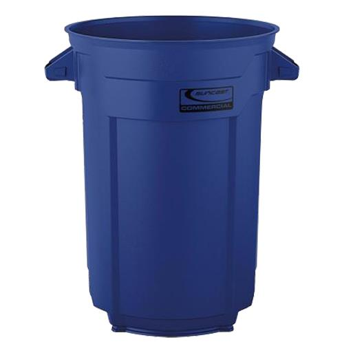 Wholesale 44 GAL COMMERCIAL TRASH CAN BLUE