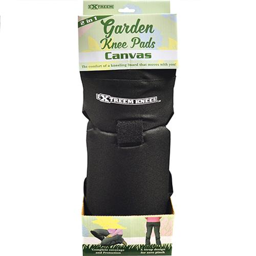 Wholesale BLACK CANVAS GARDEN KNEE PADS