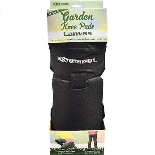 Wholesale BLACK CANVAS GARDEN KNEE PADS