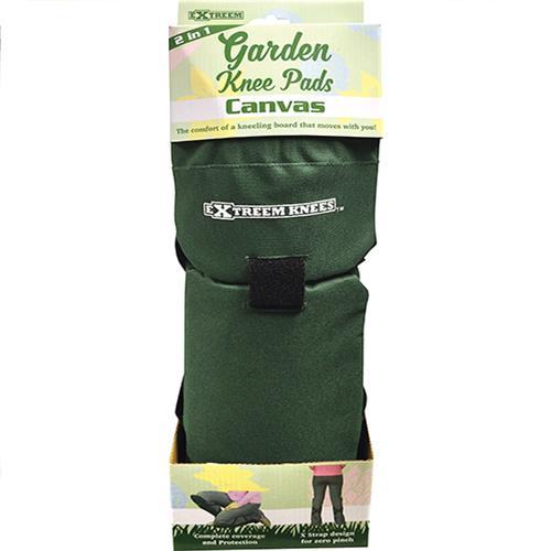 Wholesale GREEN CANVAS GARDEN KNEE PADS