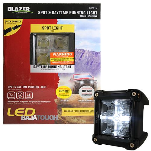 Wholesale BAJA TOUGH LED SPOT & DAYTING RUNNING LIGHT -TRY ME PACKAGING