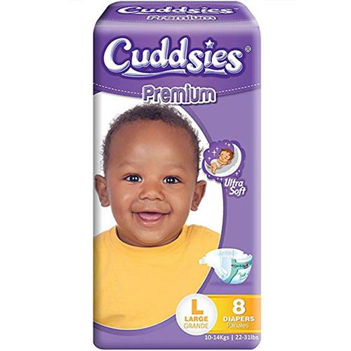 Wholesale Cuddsies Premium Diaper Large Fits 19-30 lbs.