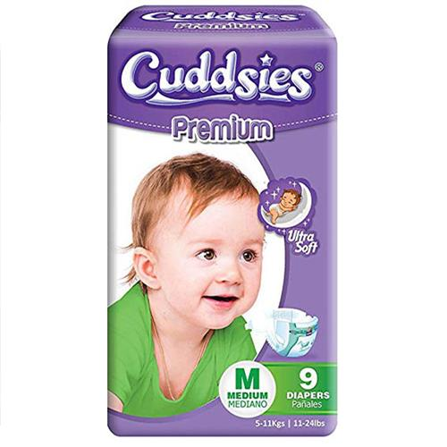 Wholesale Cuddsies Premium Diaper Medium Fits 11-24 lbs.