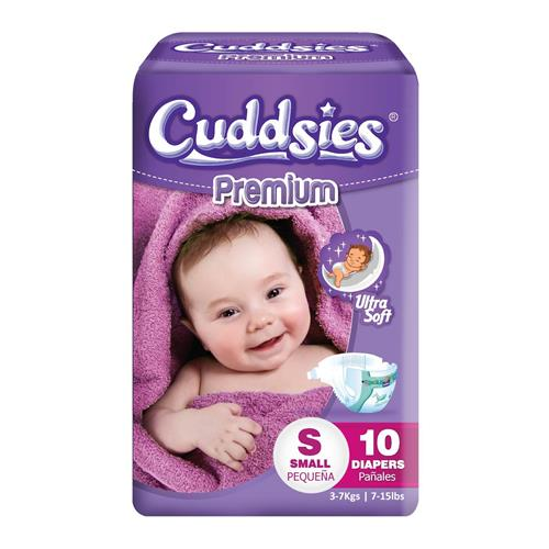 Wholesale Cuddsies Premium Diaper Small Fits 7-15 lbs.