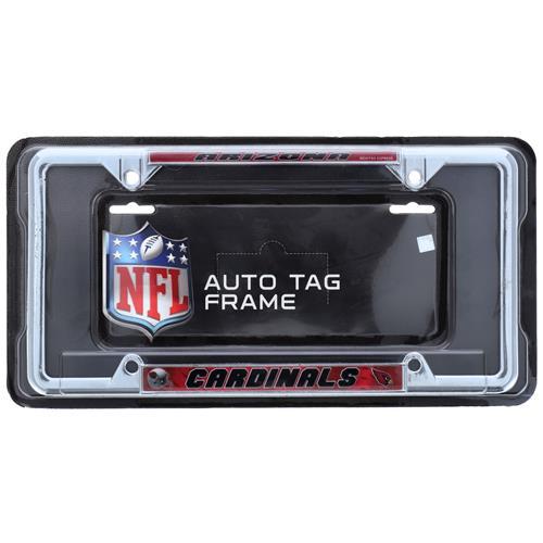 Wholesale NFL AZ CARDINALS CHROME LICENSE PLATE FRAME
