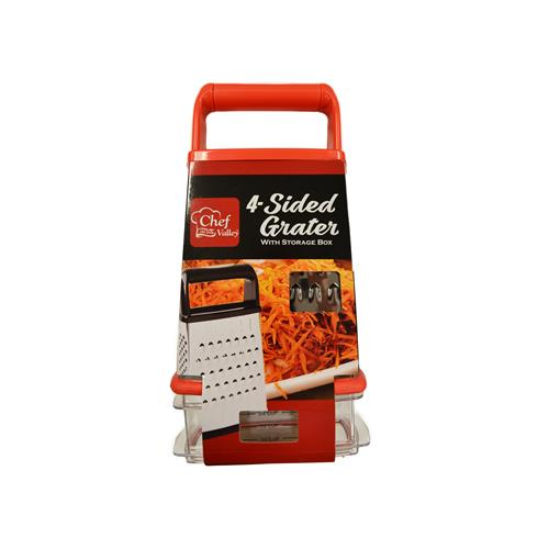 Wholesale 4 SIDED GRATER WITH STORAGE BO