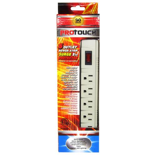 Wholesale 3' 6 Outlet Surge Protector