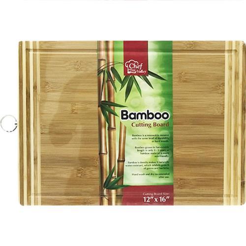 Wholesale 16''x12'' BAMBOO CUTTING BOARD