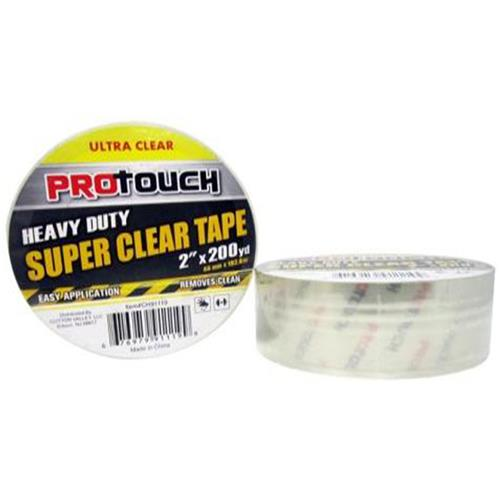 "Wholesale Super Clear Tape 2"" x 200 Yd"