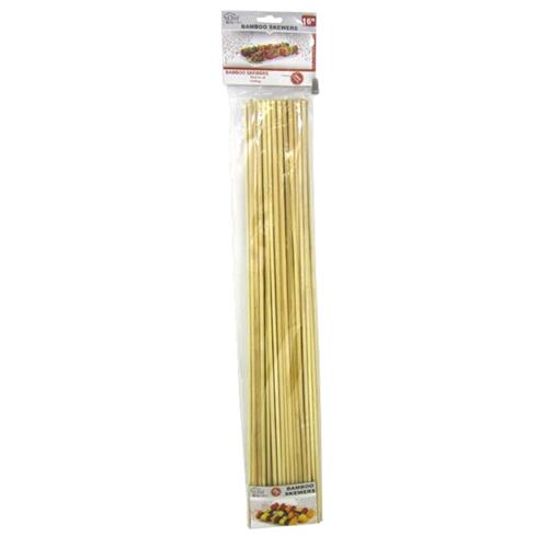 "Wholesale 16"" BAMBOO BBQ SKEWER"