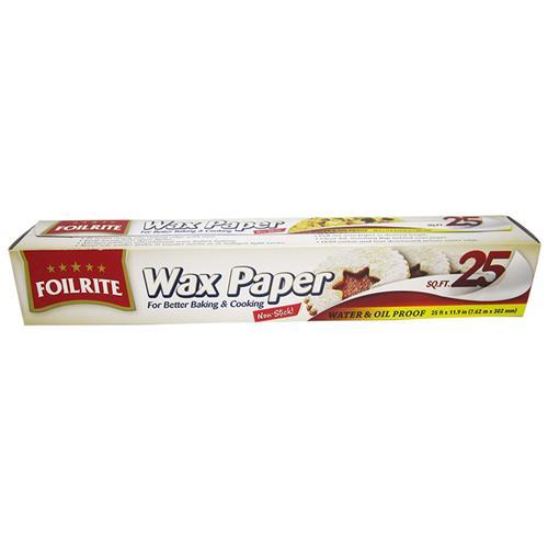 Wholesale 25 SQ FT WAX PAPER