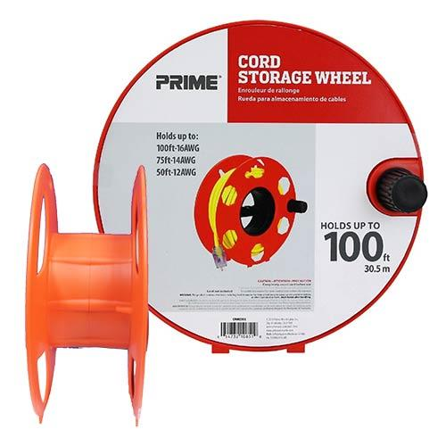 Wholesale CORD STORAGE WHEEL HOLDS UP TO 100' 16/3 CORD