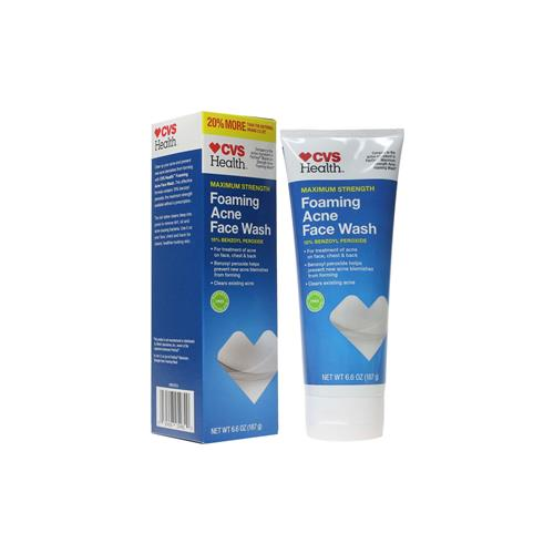 Wholesale CVS ACNE FOAMING FACE WASH 12/