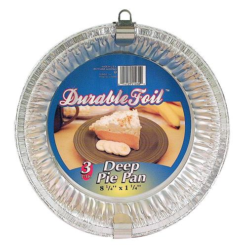 "Wholesale Durable Deep Dish Pie Pan 8.25 x 1.25"""