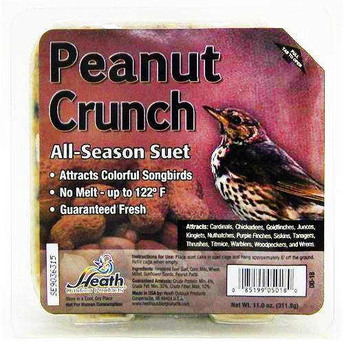 Wholesale Heath Suet Cakes - Peanut Crunch