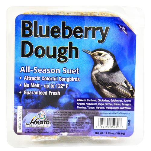 Wholesale Heath Suet Cakes Blueberry Dough