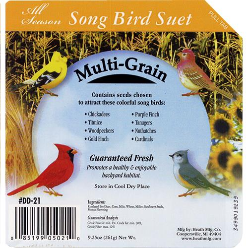 Wholesale Songbird Suet Cake - Multi-Grain.