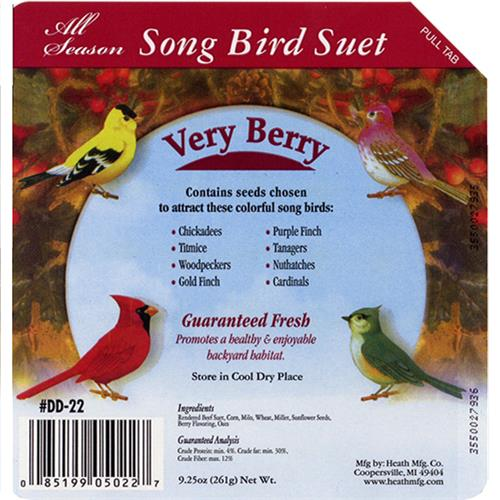 Wholesale Songbird Suet Cake - Very Berry