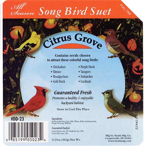 Wholesale Songbird Suet Cakes - Citrus Grove