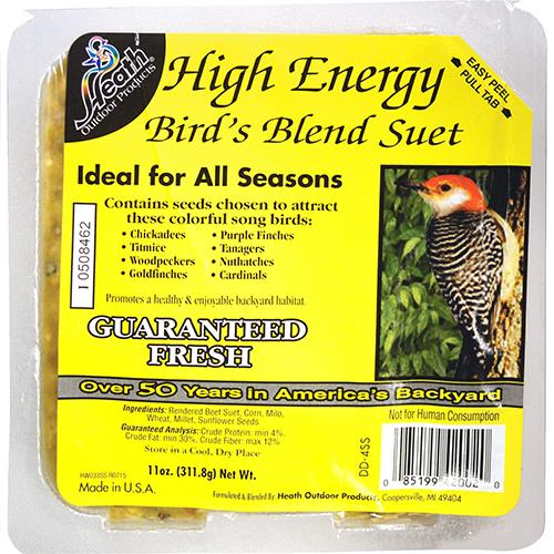 Wholesale Heath High Energy Suet Cakes - Orange Burst