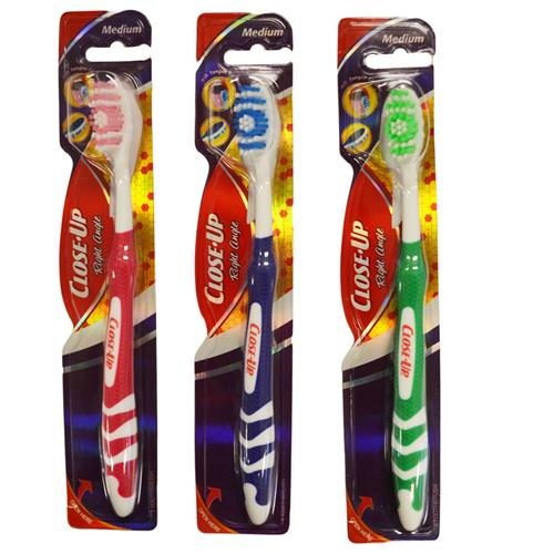 Wholesale Close Up Style MED Toothbrush in PDQ