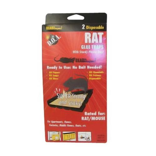 Wholesale D.O.A. RAT Glue Trays 2 Pack