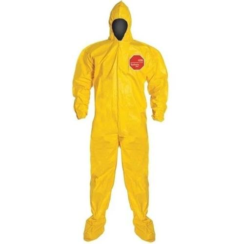 Wholesale Yellow Coverall, Tychem QC 3XL