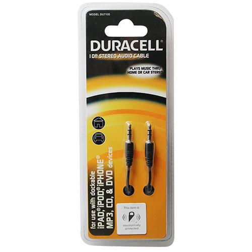 Wholesale DURACELL 10' STEREO AUDIO CABLE 3.5MM