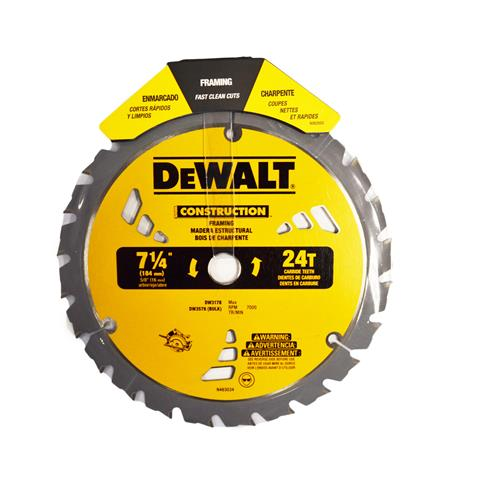 "Wholesale 7-1/4"" CIRCULAR SAW BLADE 24 T"