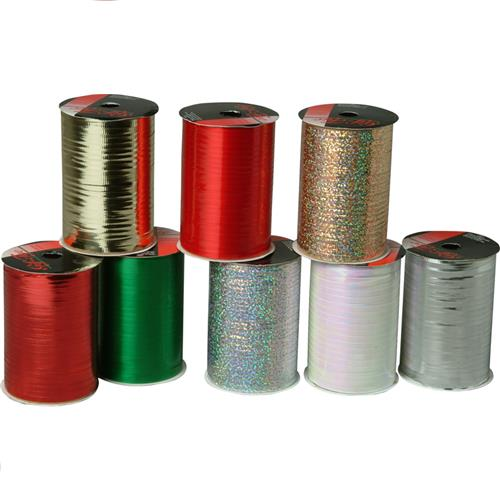 Wholesale CMAS PREMIUM CURL RIBBON 100' 4 TYPE,ASST COLOR