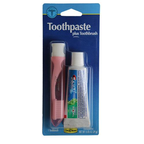 Wholesale CREST TOOTHPASTE & TRAVEL TOOTHBRUSH KIT