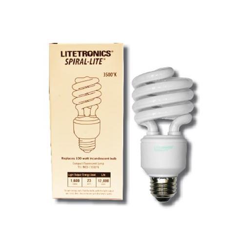 Wholesale SPRIRAL CFL 23=100WATT 3500K