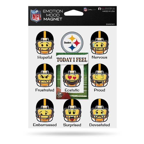 Wholesale NFL STEELERS EMOTION MOOD MAGNET SET