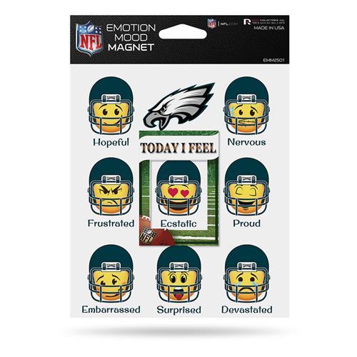 Wholesale NFL EAGLES EMOTION MOOD MAGNET SET