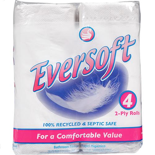 Wholesale 4pk BATH TISSUE 2PLY 150 SHEET