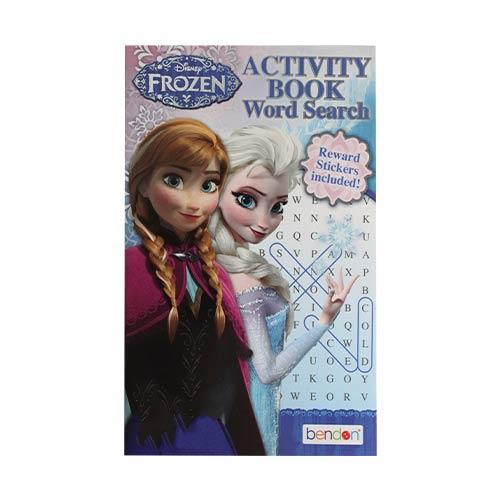 Wholesale FROZEN WORD SEARCH BOOK WITH REWARD STICKERS 80pg
