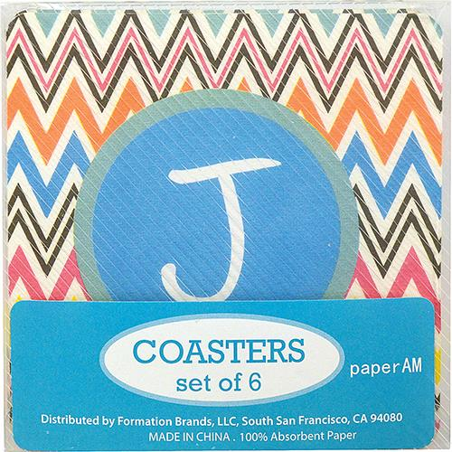 Wholesale PAPER COASTERS (SET/6) WITH MO