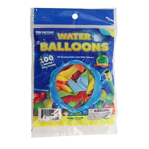 Wholesale 100 WATER BALLOONS & FILLER