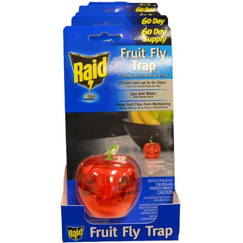 Wholesale Raid 60 Day Supply Fruit Fly Trap
