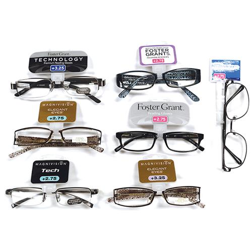 Wholesale Foster Grant Reading Glasses Assorted Colors & Powers