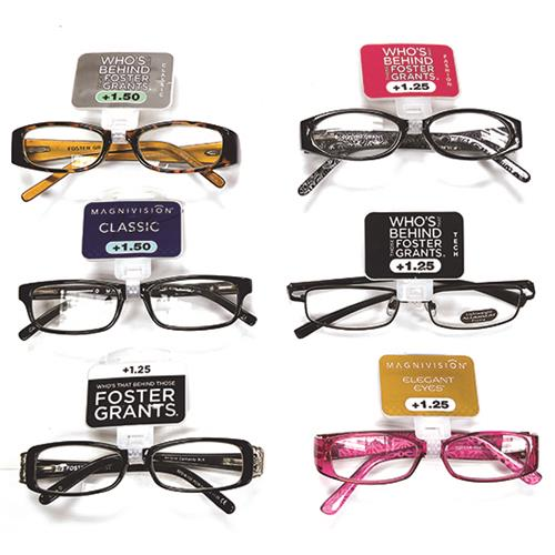 Wholesale Foster Grand Reading Glasses Assorted Powers & Colors
