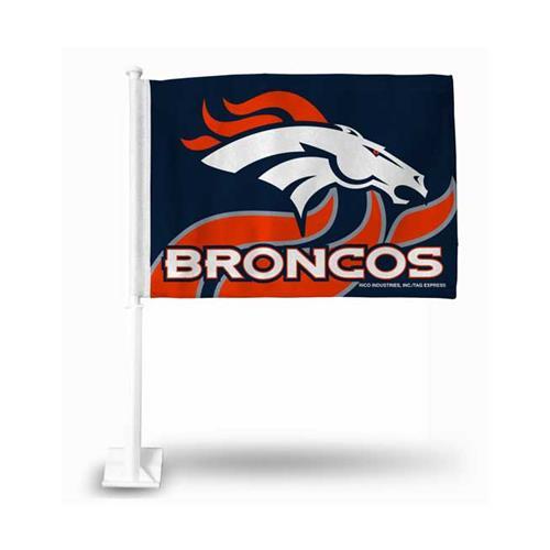 Wholesale NFL DENVER BRONCOS CAR FLAG