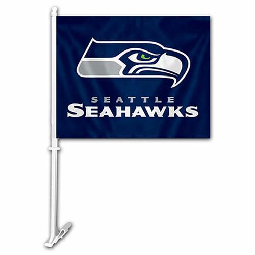 Wholesale NFL SEAHAWKS CAR FLAG