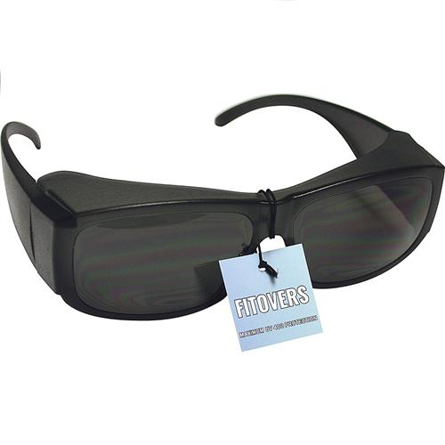 Wholesale SAFETY GLASSES SMOKE FITOVER