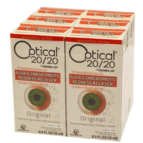 Wholesale Optical 20/20 Eye Drops Original Formula (Visine Original)- Expires 04/2019