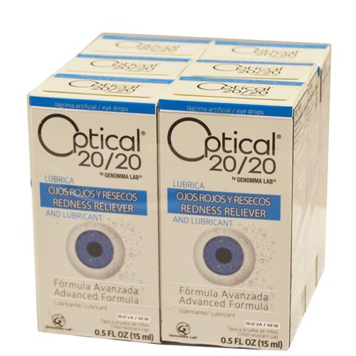 Wholesale Optical 20/20 Eye Drops Advanced Formula (Visine Advanced) - Expires 03/2019