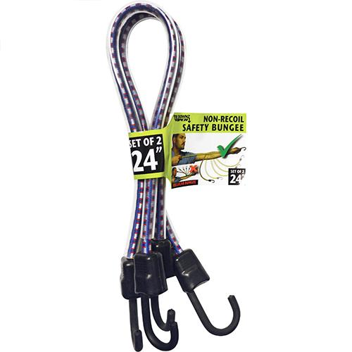 """Wholesale Viper Safety Bungee 24"""" Non-Recoil. Blue"""