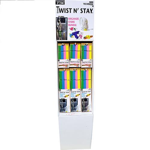 Wholesale 30CT 8PK TWIST N STAY TIE DOWN