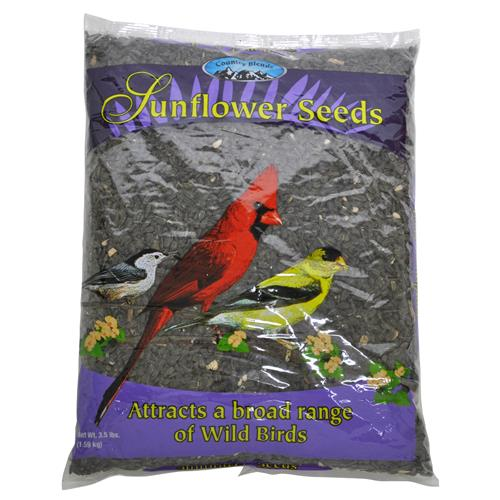Wholesale Country Blends Black Oil Sunflower Seeds